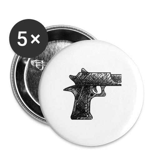 Pipa png - Buttons klein 25 mm (5-pack)
