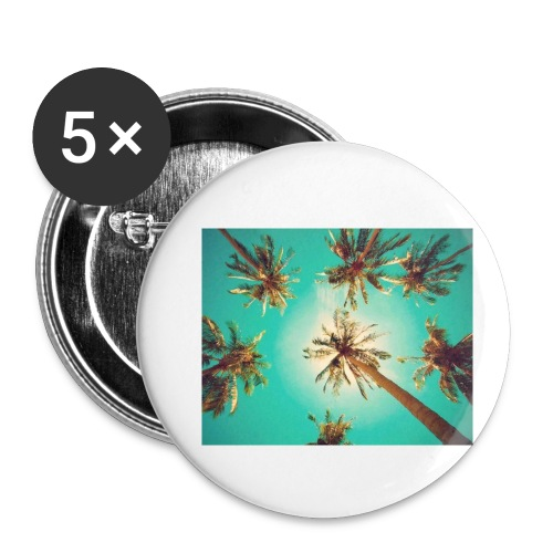 palm pinterest jpg - Buttons small 1''/25 mm (5-pack)