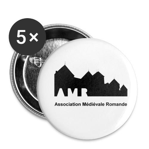 AMR - Lot de 5 petits badges (25 mm)