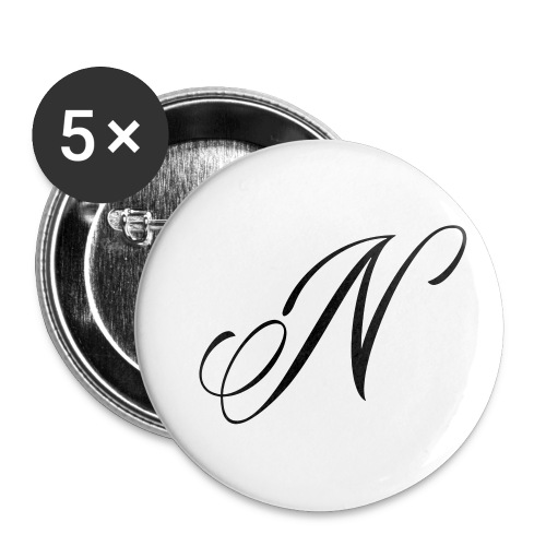 NUTTELOGO2NEW - Buttons small 1''/25 mm (5-pack)