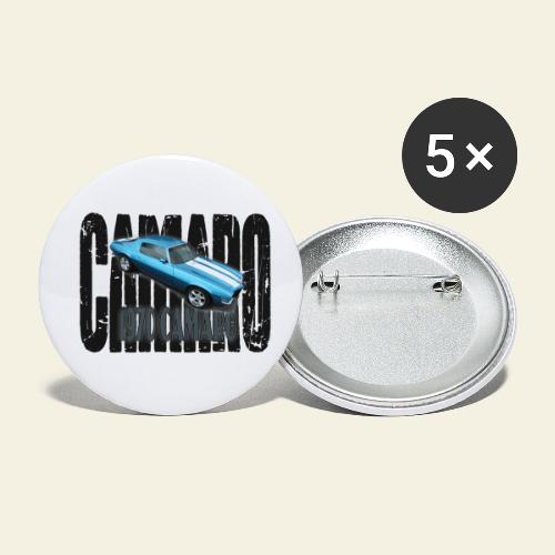 70 Camaro - Buttons/Badges lille, 25 mm (5-pack)