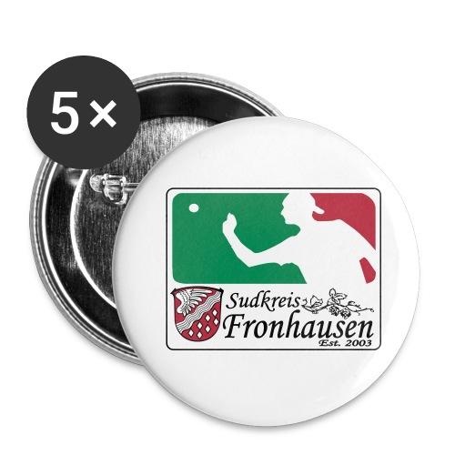 Logo_Beer_Pong_2015 - Buttons klein 25 mm (5er Pack)