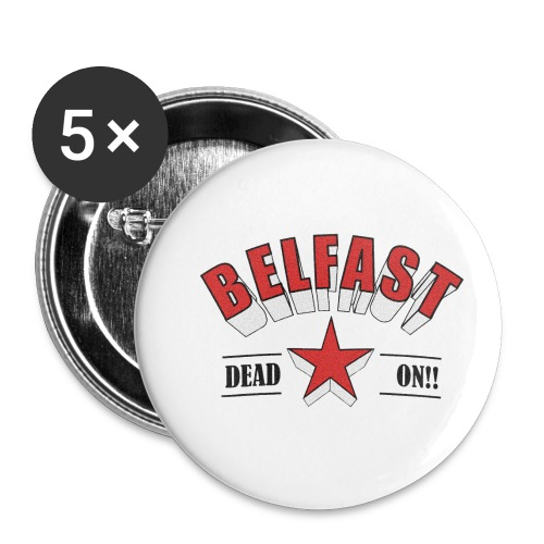 Belfast - Dead On!! - Buttons small 1''/25 mm (5-pack)