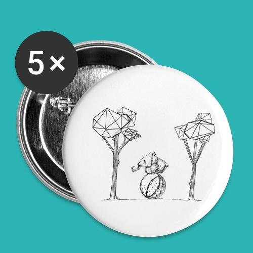 Rotolare_o_capitombolare-01-png - Confezione da 5 spille piccole (25 mm)