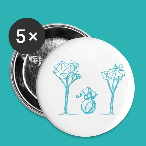 Rotolare_o_capitombolare_lightblu-png - Confezione da 5 spille piccole (25 mm)