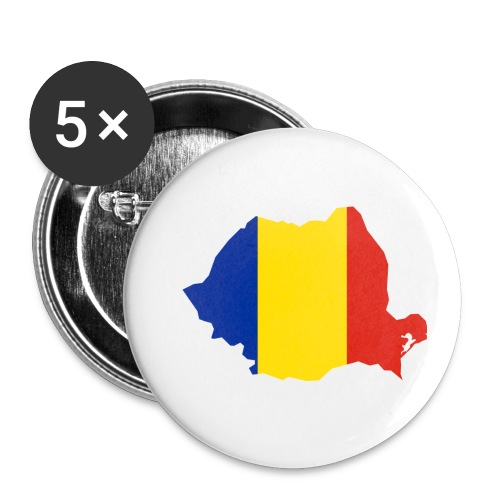 Romania - Buttons klein 25 mm (5-pack)
