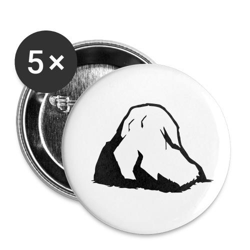 Boulder - Buttons klein 25 mm (5er Pack)