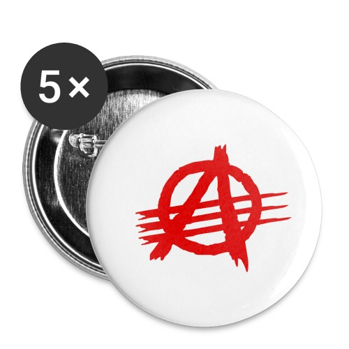 AGaiNST ALL AuTHoRiTieS - Buttons small 1''/25 mm (5-pack)
