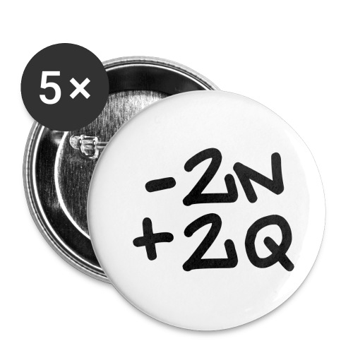 -2n+2q - Buttons small 1''/25 mm (5-pack)