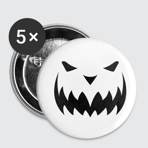 Halloween 2 - Buttons klein 25 mm (5er Pack)