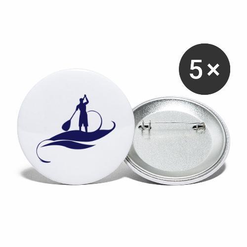 Paddle Man - Lot de 5 petits badges (25 mm)