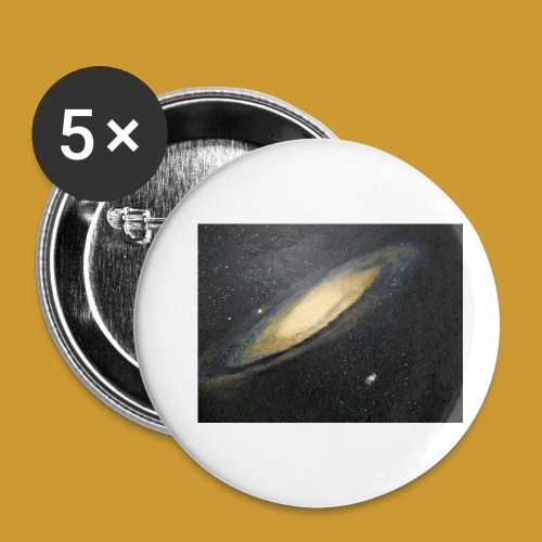 Andromeda - Mark Noble Art - Buttons small 1''/25 mm (5-pack)