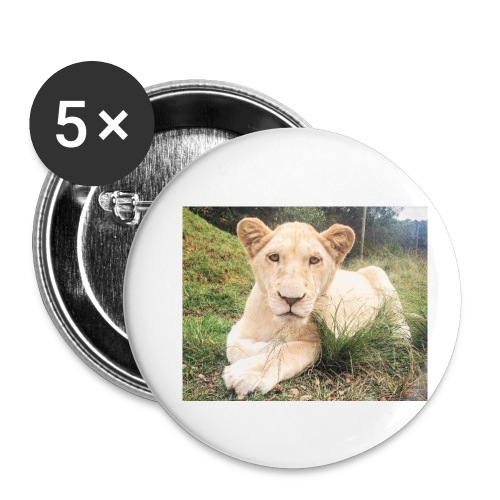 10536 2Cmoomba groot - Buttons small 1''/25 mm (5-pack)