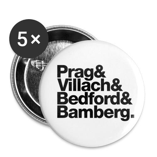 Freunde - Buttons klein 25 mm (5er Pack)