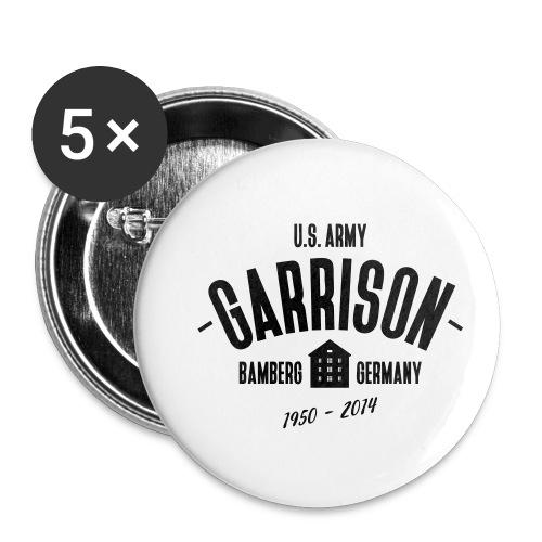 Garrison Bamberg - Buttons klein 25 mm (5er Pack)