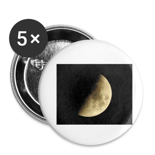 LUNA_3840X3072 - Confezione da 5 spille piccole (25 mm)