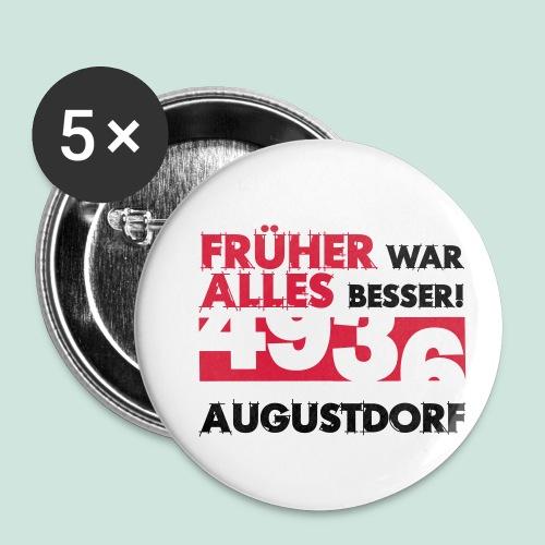 Früher 4936 Augustdorf - Buttons klein 25 mm (5er Pack)