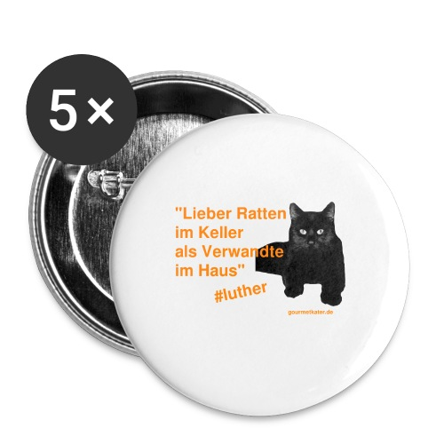 Luther-Zitat - Buttons klein 25 mm