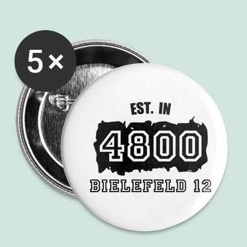Established 4800 Bielefeld 12 - Buttons klein 25 mm (5er Pack)