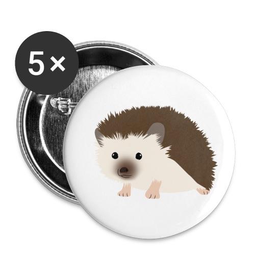 Siili - Rintamerkit pienet 25 mm (5kpl pakkauksessa)