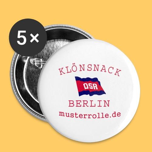 KiB-Logo-gif - Buttons klein 25 mm (5er Pack)