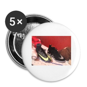 Footy boots - Buttons small 25 mm