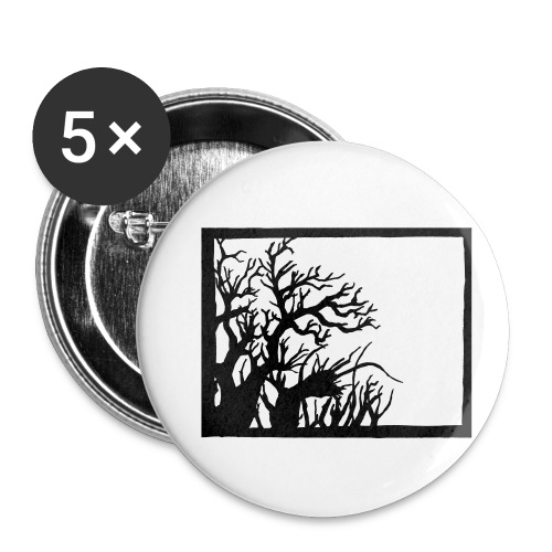Winterknick - Buttons klein 25 mm (5er Pack)