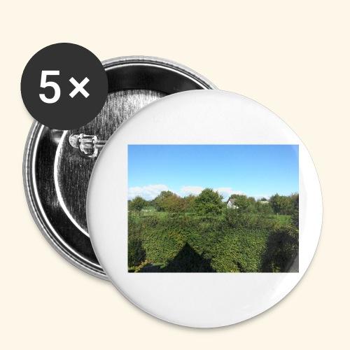 Jolie temps ensoleillé - Lot de 5 petits badges (25 mm)
