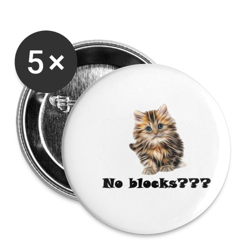 No block kitten - Liten pin 25 mm (5-er pakke)