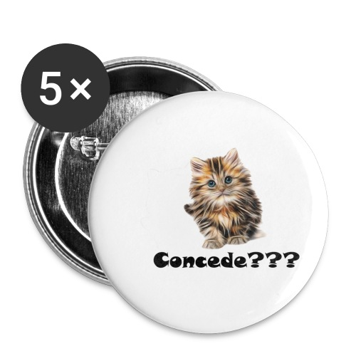 Concede kitty - Liten pin 25 mm (5-er pakke)