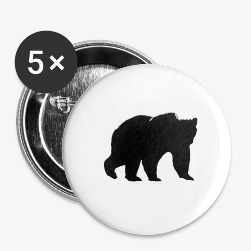 alouci - Små knappar 25 mm (5-pack)
