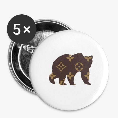 alouci x lv - Små knappar 25 mm (5-pack)