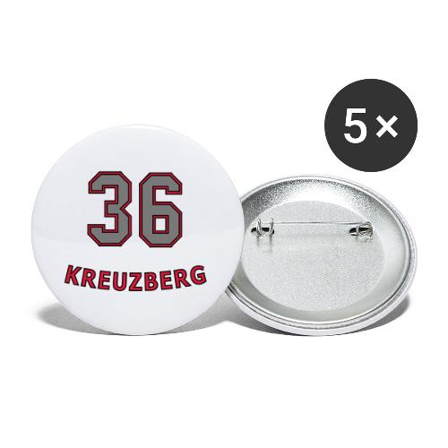 KREUZBERG 36 - Lot de 5 petits badges (25 mm)