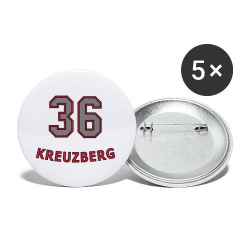 KREUZBERG 36 - Buttons klein 25 mm (5er Pack)