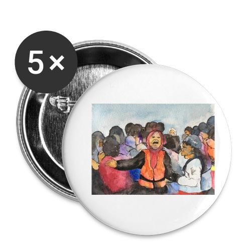 Lezvos22 - Små knappar 25 mm (5-pack)