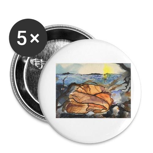 Lezvos 11 - Små knappar 25 mm (5-pack)