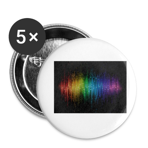 THE DJ - Buttons small 1''/25 mm (5-pack)