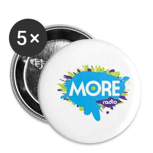 More Radio 2017 - Buttons klein 25 mm