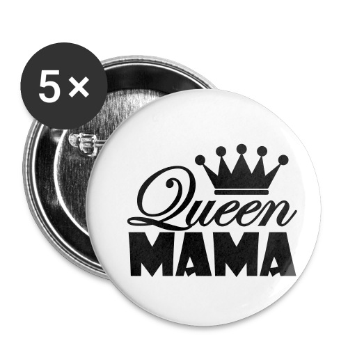queenmama - Buttons klein 25 mm (5er Pack)
