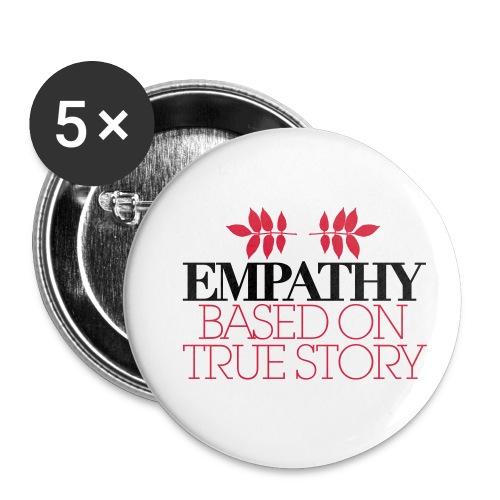 empathy story - Przypinka mała 25 mm (pakiet 5 szt.)