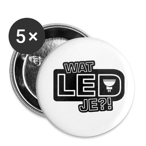 bbb watledje - Buttons small 1''/25 mm (5-pack)