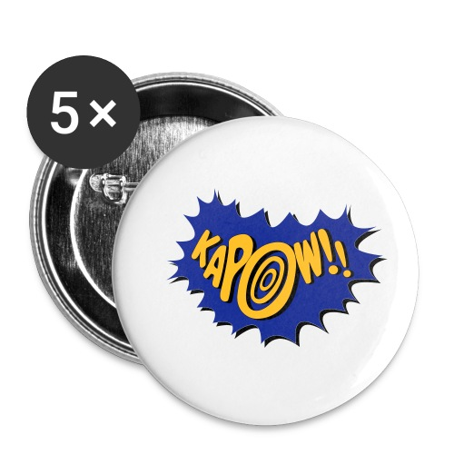kapow - Buttons small 1''/25 mm (5-pack)