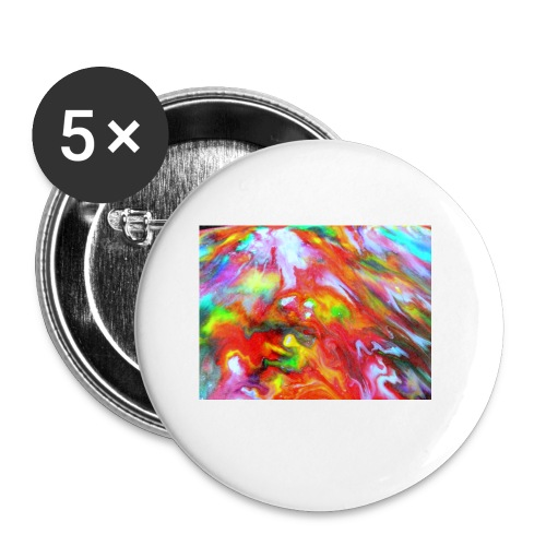 abstract 1 - Buttons small 1''/25 mm (5-pack)