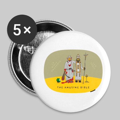 VJocys Devil Pope - Buttons small 1''/25 mm (5-pack)