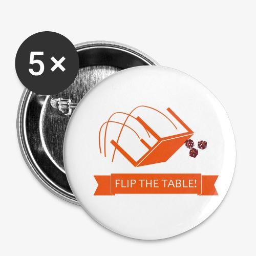 Flip the table! - Liten pin 25 mm (5-er pakke)