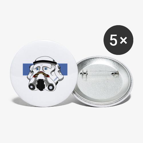 The Look of Concern - Buttons small 1''/25 mm (5-pack)