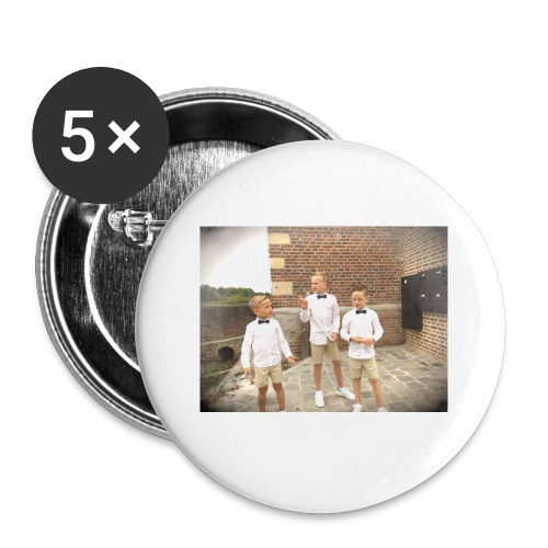 bane - Buttons klein 25 mm (5-pack)