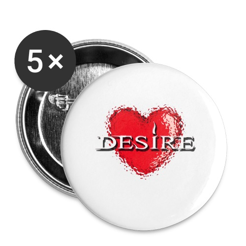 Desire Nightclub - Buttons small 1''/25 mm (5-pack)