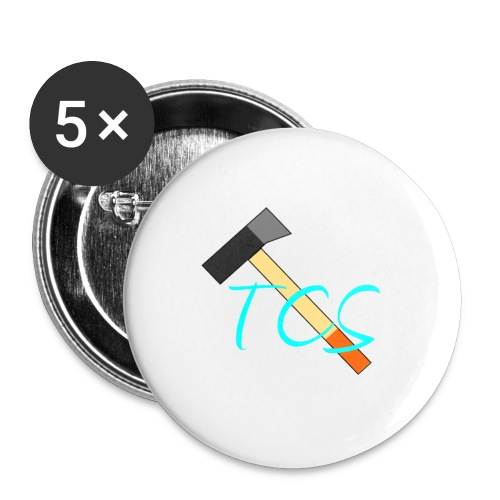 tcs drawn - Buttons small 1''/25 mm (5-pack)