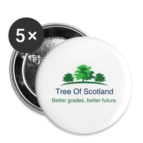 TOS logo shirt - Buttons small 1''/25 mm (5-pack)
